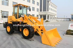 82HP 0.85m3 2 Ton Wheeled Loader, Mini Wheeled Loader pictures & photos
