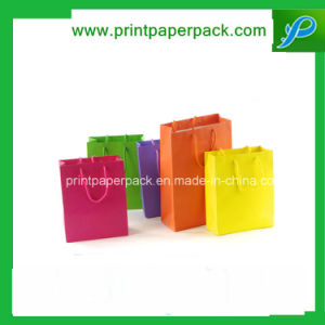 Custom Jewelry Fashion Handbag Shopping Gift Cosmetic Kraft Paper Bag pictures & photos