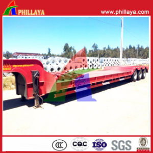 Heavy Load 100t Truck Trailer Lowboy Low Bed Trailer pictures & photos