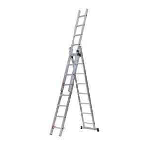 3*12 Step Folding Aluminium Extension Ladder 928cm pictures & photos
