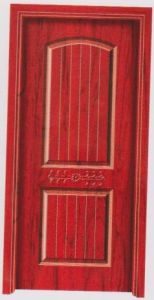 Simple Design Solid Wood Door with Cheapest Price pictures & photos