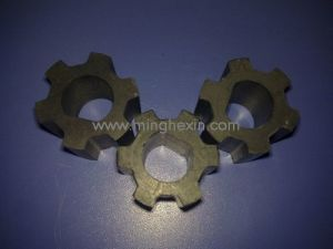 Black Plastic Injection Component with ISO SGS pictures & photos