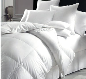 Luxury Goose Down and Feather Duvet Comforter Bedding Quilt (DPF1093) pictures & photos