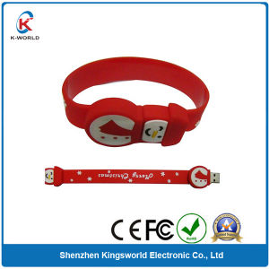 Best Seller Bracelet USB Flash Drive with Logo Printing Service