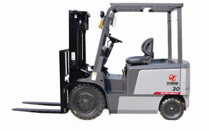 3ton Battery Forklift Truck Factory Warehouse Handling Equipment pictures & photos