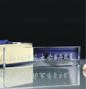 Lauda K9 Crystal Paperweight