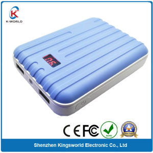 Plastic Luggage 8400mAh Power Bank Charger