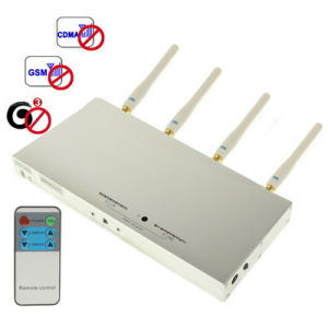 Cell Phone Signal Isolator Remote Control 3G Jammer (SJ141) pictures & photos