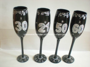 Luxurious Hand Painted Champagne Glass Gift (B-GG01) pictures & photos