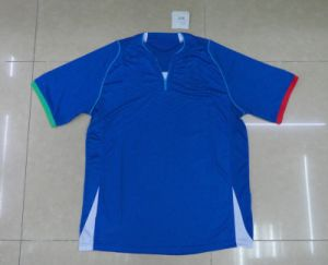 Hot Sale 2013 Season City Away Soccer Jersey ,Top Quality Men′s Football Jersey ,Blue Sports Wear (FJ03) pictures & photos