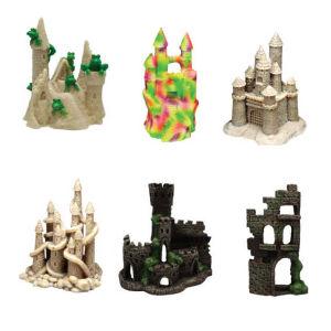 Polyresin Miniature Castle For Aquarium Ornament pictures & photos