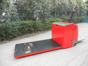 Electric Pallet Truck with Platform (Te Series) pictures & photos