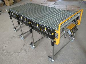 Motorized Flexible Roller Conveyor/ O Belt Conveyor pictures & photos