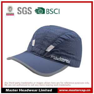 Navy Blue Sports Cap with Printing