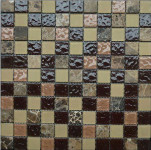 Stone and Glass Mosaic Blend (HGM206) pictures & photos