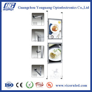 Double Side Clear Acrylic LED Light Box-CRD pictures & photos