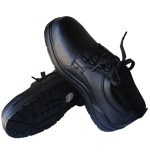 ESD Leather Shoes (3W-9108) pictures & photos