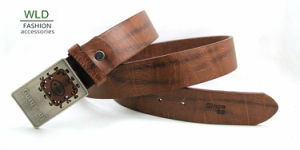 Classic and Basic Man Belt with Split Leather Linning M596 pictures & photos