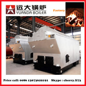 Dzh Series 4ton Industrial 4000kg/H 4t Wood Steam Boiler pictures & photos