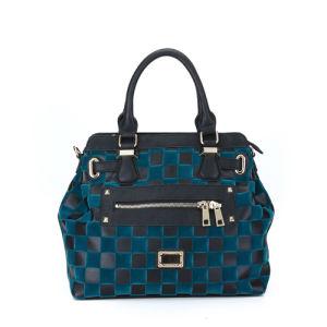 Plain Two Zipper Front Pocket Fashion Bag (MBNO036073) pictures & photos