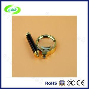 5X Portable Mini Multi-Functional Magnifier Lamp/Lens, High Quality Metal Handheld Reading Magnifier (EGS-SZ-83HS) pictures & photos