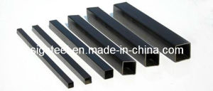 Ms Carbon Black Steel Square Tube/Galvanized /Pre Galvanized Square Tube pictures & photos