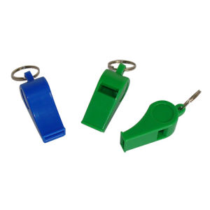 Plastic Whistle with Key Chain (HB6103)