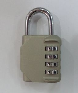 New Product 4 Digit Combination Padlock 1610 pictures & photos