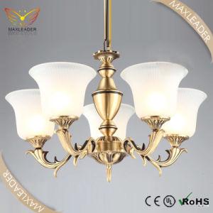 Brass Chandelier of Antique Polished Vintage Decorative lighting (MD7140)