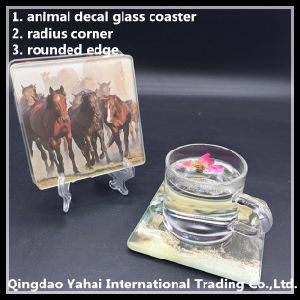 5mm Tempered Glass Coaster/ Glass Placemat pictures & photos