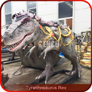 Attractive T-Rex Amusement Park Animatronic Dinosaur pictures & photos