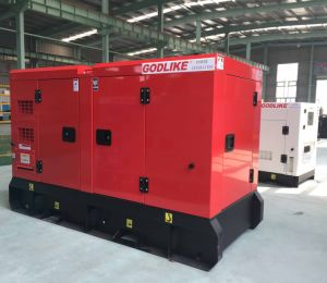 Soundproof 50kVA Diesel Gensets /Ce/Silent/Good Engine/Stamford Alternator pictures & photos