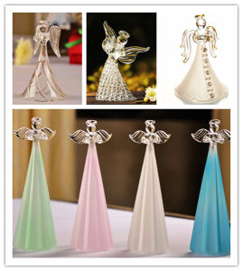 Exquisite Personalized for Wedding Souvenir Gifts Crystal Angel pictures & photos