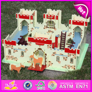 2015 New Mini Wood Castle Molds Toy, Fancy Wood Castle Molds Toy, Wooden Castle Molds Toy for Baby W06A121 pictures & photos