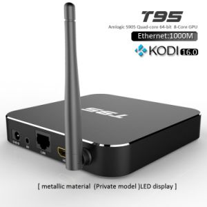 T95 TV Box with Android 5.1 Aml S905 CPU 4k Output Kodi 16.0 pictures & photos
