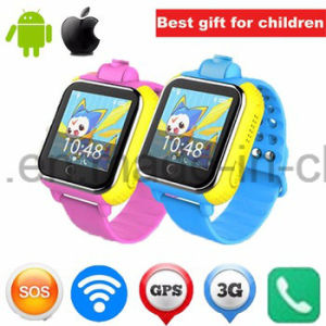 3G Touch Screen Kids Smart GPS Tracker Watch with Camera D18 pictures & photos