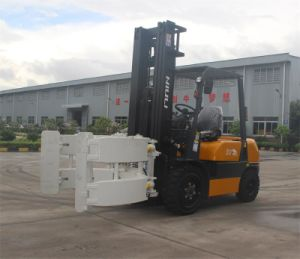 3ton Diesel Forklift with Attachment Paper Clamps pictures & photos