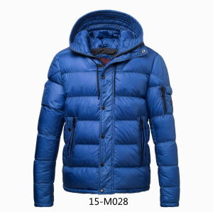 Men′s Winter Padding Hooded Jacket (15-M028) pictures & photos
