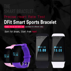 Health Care Wristband Bluetooth Smart Bracelet with Heart Rate D21 pictures & photos