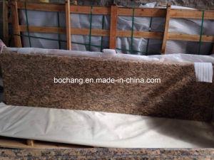 Giallo Fiorito Granite Slab for Granite Countertop pictures & photos