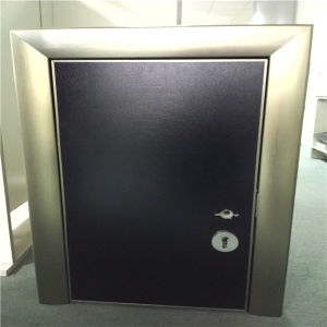 Black Color Aluminium Door Honeycomb Panels pictures & photos
