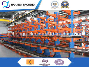 Warehouse High Quality Steel Double-Arm Cantilever Racking with Powder Coating pictures & photos