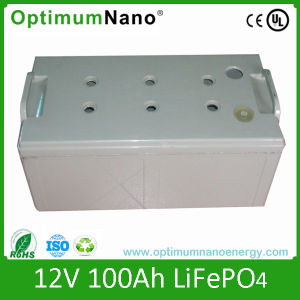 Optimumnano High Quality 12V 100ah LiFePO4 Battery Pack pictures & photos