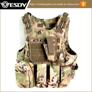 Outdoor Sports Airsoft Gear Combat Tactical Vest for Military pictures & photos