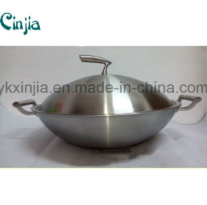 Hot New Kitchenware Pots and Pans with Handles Stainless Steel Cookware pictures & photos
