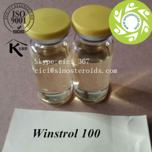 Medical Legal Steroid Water Based Injectable Winstrol 100 pictures & photos