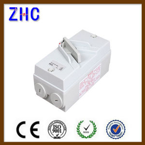 IP66 Weatherproof Type of Electrical Isolation Switch 20A Isolator Switch pictures & photos