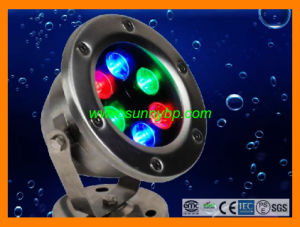 12V RGBW Stainless Steel Underwater LED Light Underwater Light pictures & photos