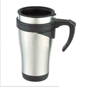 Double Wall Stainless Steel Travel Thermos Mug with Handle (DC-CW-450) pictures & photos