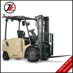 Hot-Selling 3t-3.5t Four Wheels Electric Forklift pictures & photos